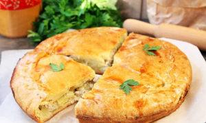 Курник из курицы с картофелем: пошаговый рецепт пирога из дрожжевого теста