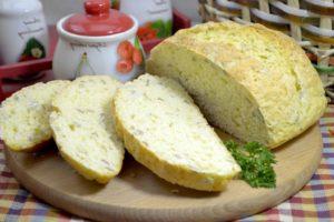 Белый хлеб на простокваше «Ночной»