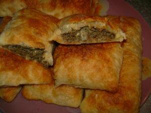 Жареные пирожки с печенью
