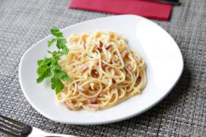 Итальянская паста Карбонара