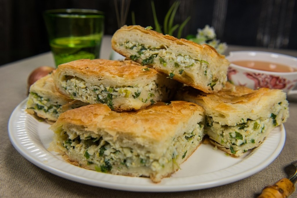 пирог с сыром и зеленым луком фото эти сложности как