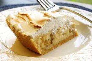 Пирог «Творожно-банановое чудо»
