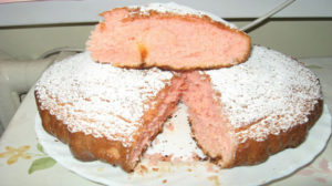 Пирог из сухого киселя с кефиром «Губка»