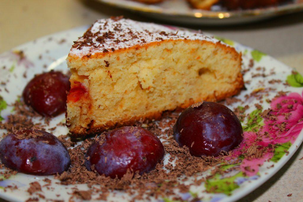 Пироги со сливами рецепты с фото