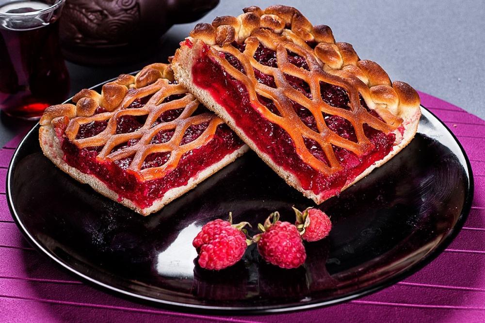 стнет пироги из малины рецепт с фото изготовления коробки