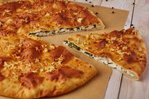 Пирог с сыром - подготовка продуктов