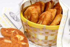 Пирожки из теста на основе кефира