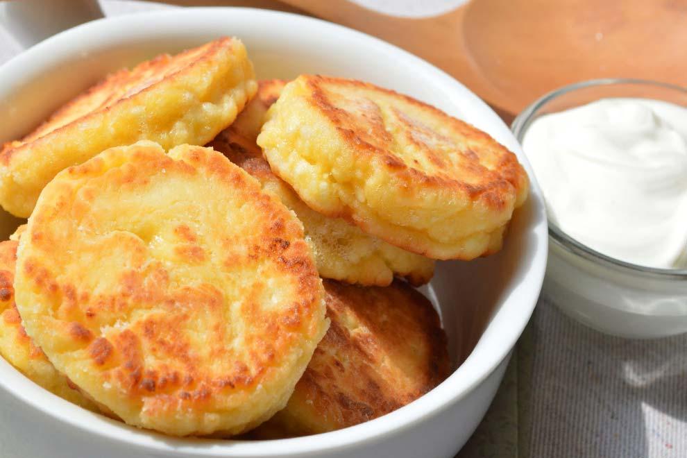 Правильные сырники как в детском саду -рецепт в духовке.