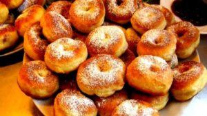 Тесто для пончиков на желтках
