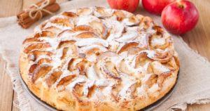 Яблочный пирог в мультиварке по-английски